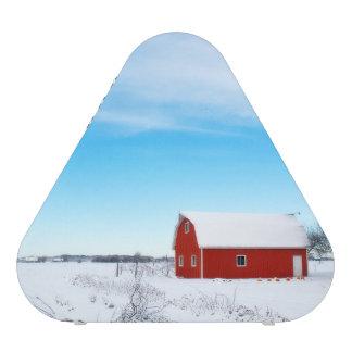 winter Barn Image Blueooth Speaker