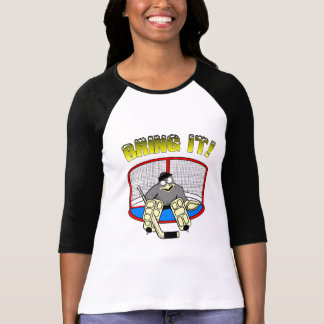 Womens Penguin Goalie T-Shirt