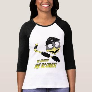 Womens Penguin Hockey T-Shirt