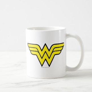 Wonder Woman Logo Classic White Coffee Mug