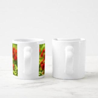 Wonderful poppy flowers VI - Wundervolle Mohnblume Couples Mug