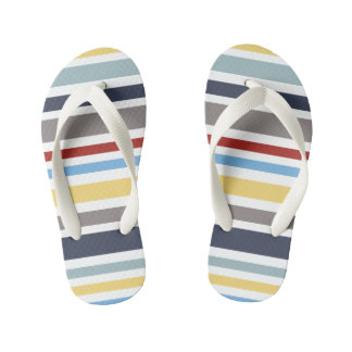 WONZ Limited Little sailor by Shirt to Design Kid's Flip Flops
