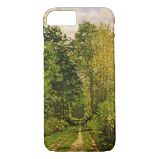 Wooded Path, 1865 (oil on canvas) iPhone 7 Case