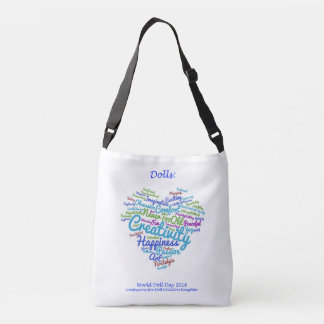 World Doll Day 2016 Crossover Tote (White)
