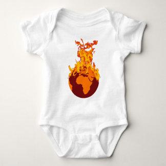 World on Fire T Shirt