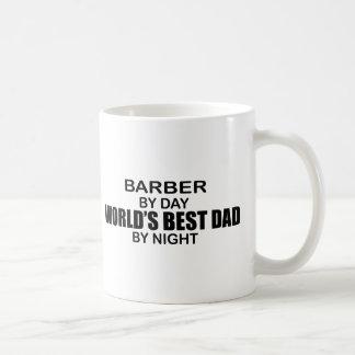 World's Best Dad - Barber Classic White Coffee Mug