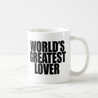 World's Greatest Lover Classic White Coffee Mug