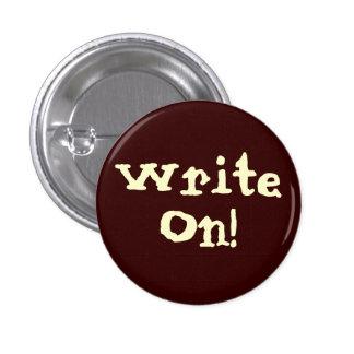 Write On! Motivational Button