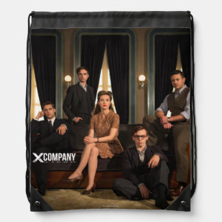 X Company Cast Photo Cinch Bag