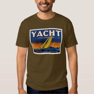 Yacht Lemons brown Tees