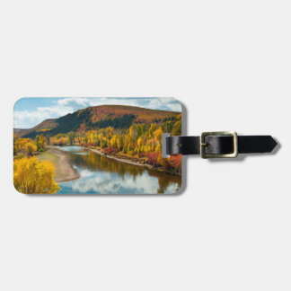 Yampa River In Autumn Bag Tags
