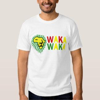 Yellow Lion Green Mane Waka Waka Shirt
