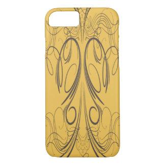 'Yellow Script' iPhone 7 Case