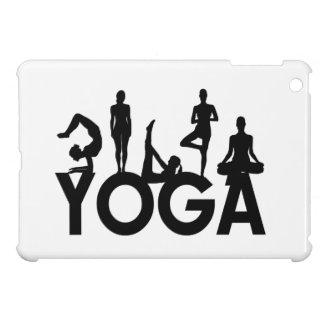 Yoga Women Silhouettes iPad Mini Cover