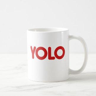 YOLO CLASSIC WHITE COFFEE MUG