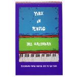 York sur la musique, calendrier 2011