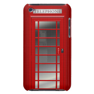 [Your Name] London Red Phone Box iPod Case