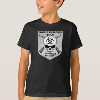 Zombie Response Team: California Division T Shirts