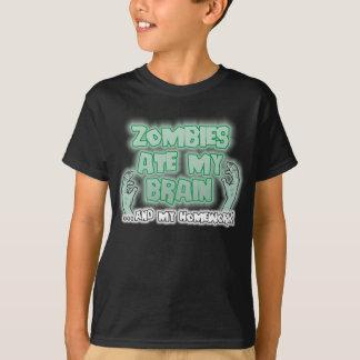 Zombies Ate My Brain Shirt