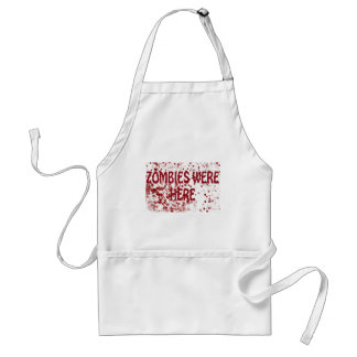 Zombies Were Here Standard Apron